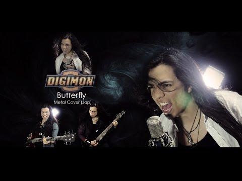 Digimon Adventure Opening - Butterfly | Metal Cover (Paulo Cuevas)