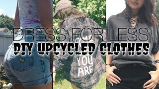 DRESS FOR LESS: DIY Upcycled Clothes + Styling // ClothesMinded