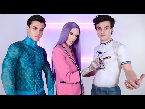 Body Painting Clothes On The Dolan Twins