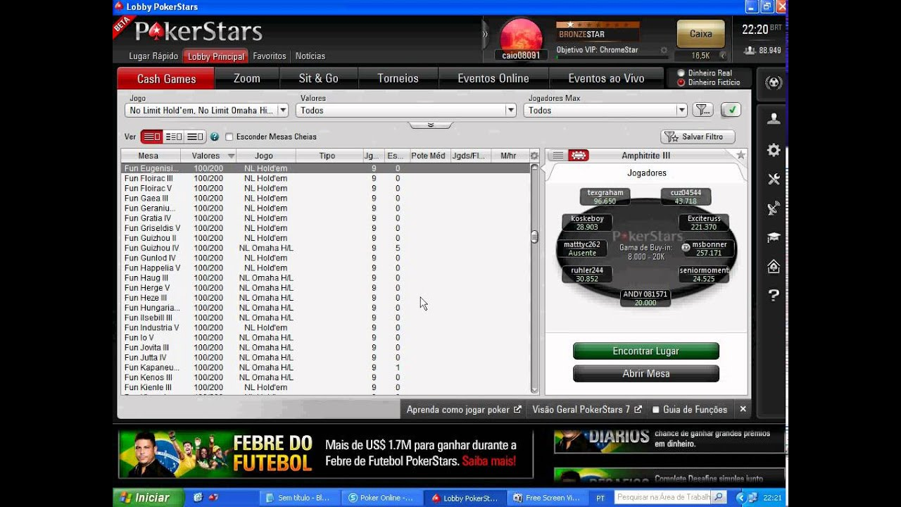 Password Pokerstars