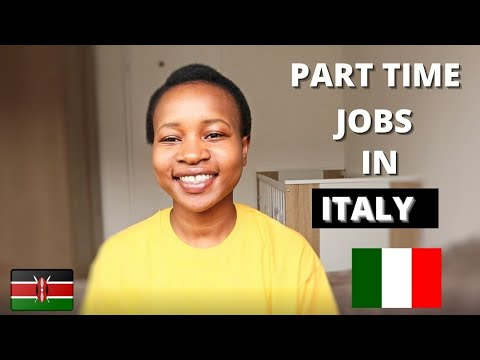 Part time jobs in Italy for international students   How to find jobs while you study in Italy