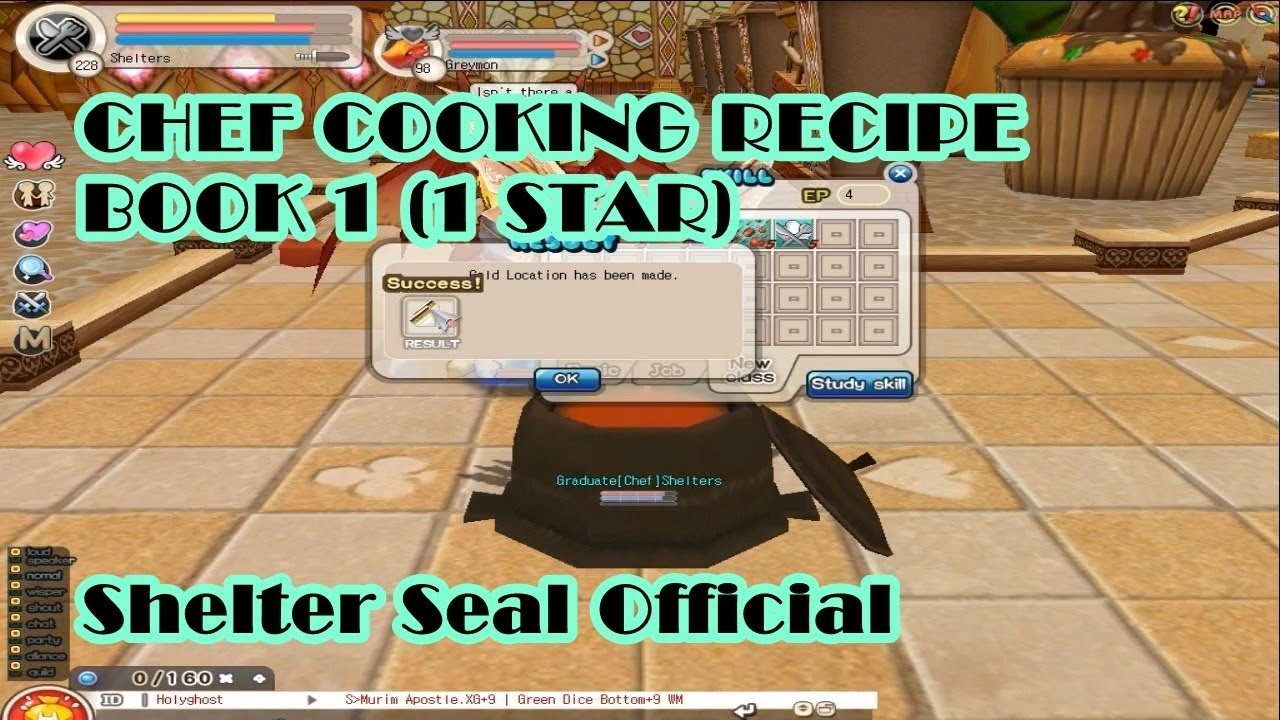 Star Chef Deluxe Recipe Book
