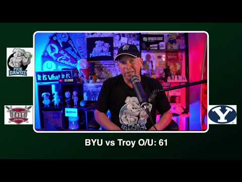 BYU vs Troy Free College Football Picks and Predictions CFB Tips Saturday 9/26/20 | Pick Dawgz