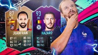 FIFA 19 - ON RÉCUPÈRE JUANFRAN 87 ET ON TESTE HAZARD 93 !!!