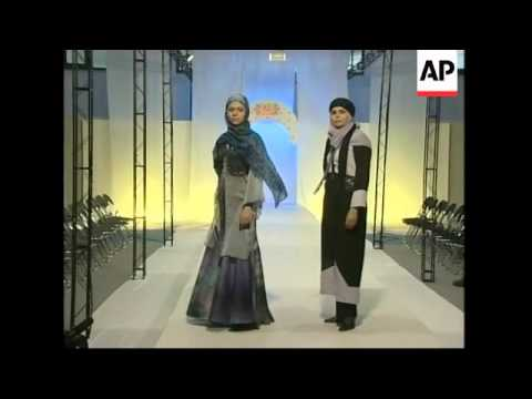 Islamic fashion show in Tehran