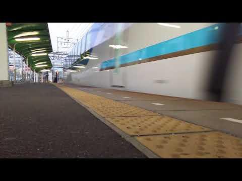 【定期しまかぜ】SV03編成名古屋行き しまかぜ 米野通過