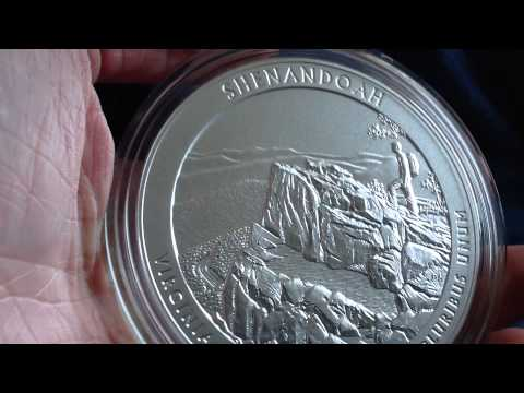 US Mint Unboxing: 5 Oz. Silver ATB Shenandaoh National Park