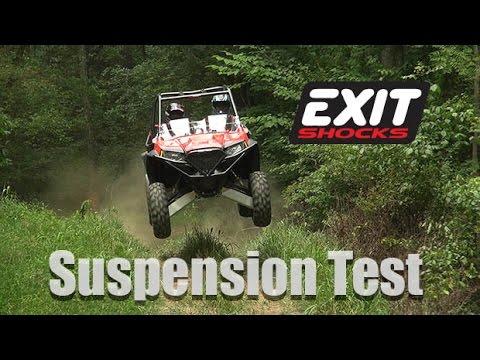 RZR S, Exit X2 Shocks, Test