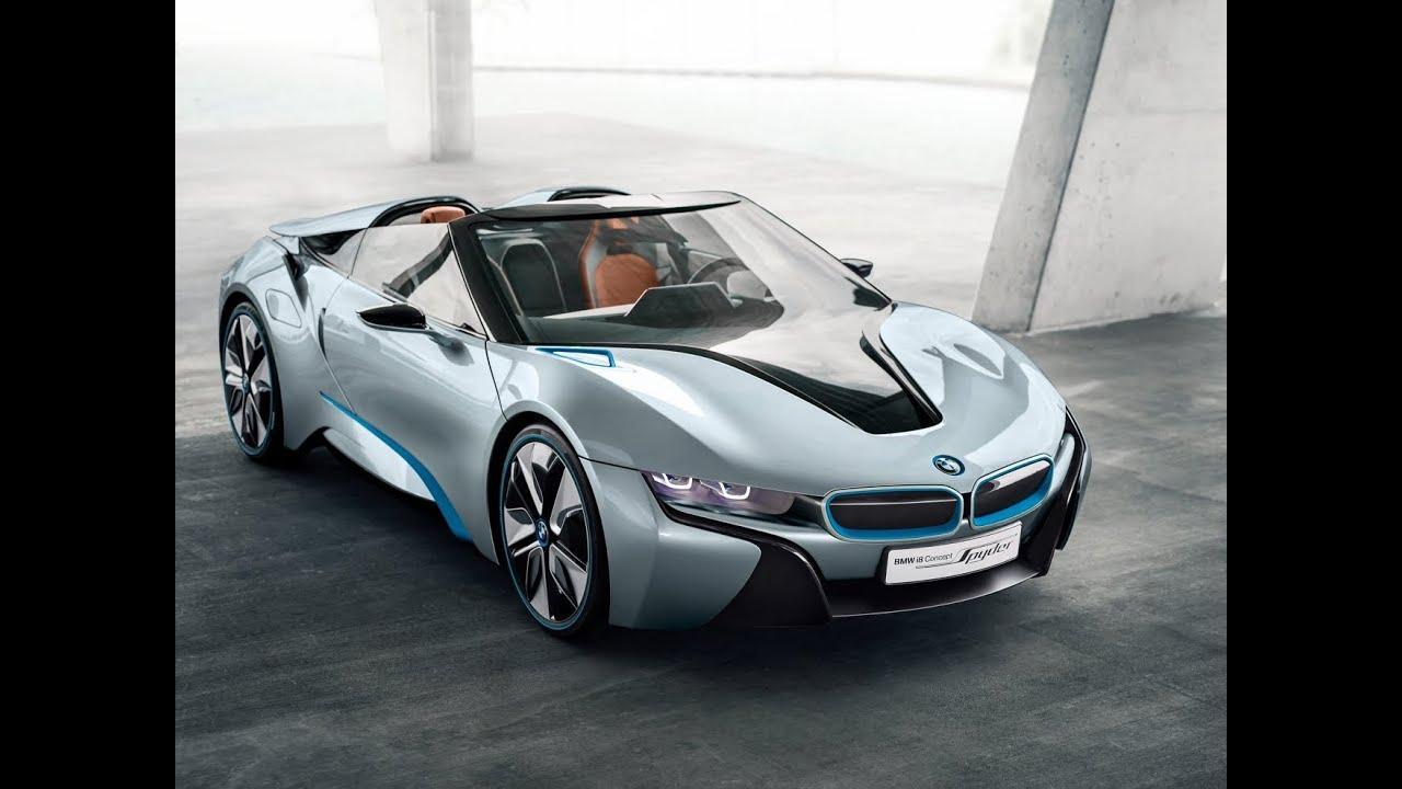 Bmw I8 Mondial De L Automobile 2012 Salon Auto Paris Vision