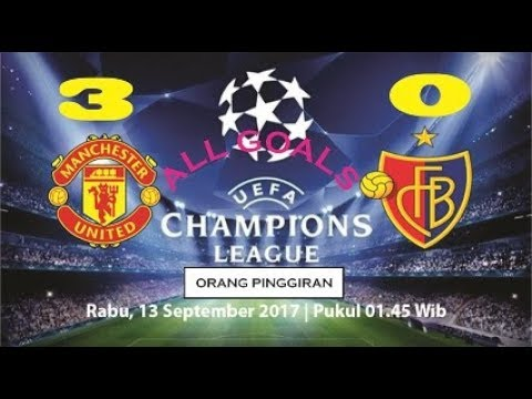 MANCHESTER UNITED VS BASEL 3-0 CHAMPIONS LEAGUE. Highlights & All Goals - 12/09/2017  HD 
