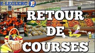 RETOUR DE COURSES // HAUL COURSES