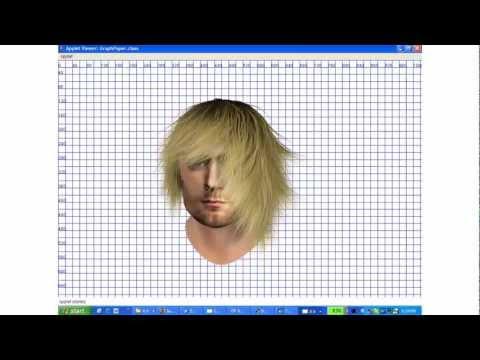 Hair Style Simulator Pleasing Kirk Cobain Hair Simulator  Youtube