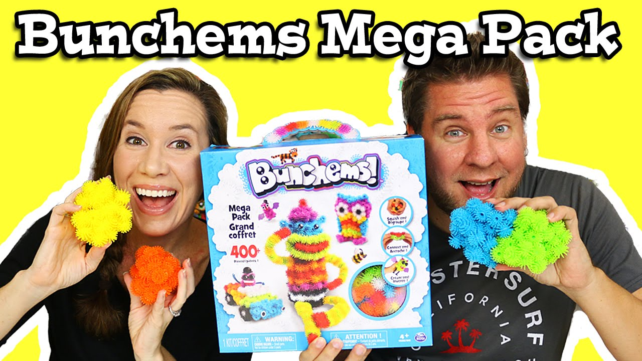 bunchems mega pack play and build youtube. Black Bedroom Furniture Sets. Home Design Ideas
