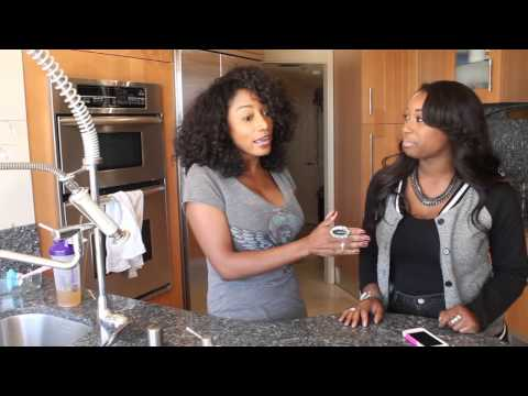 Karyn White and Ashley Lewis talk about seizing the day!