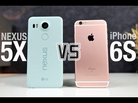 Nexus 5X vs iPhone 6S Full Comparison!