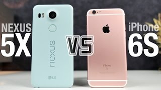 Nexus 5X vs iPhone 6S Full Comparison!