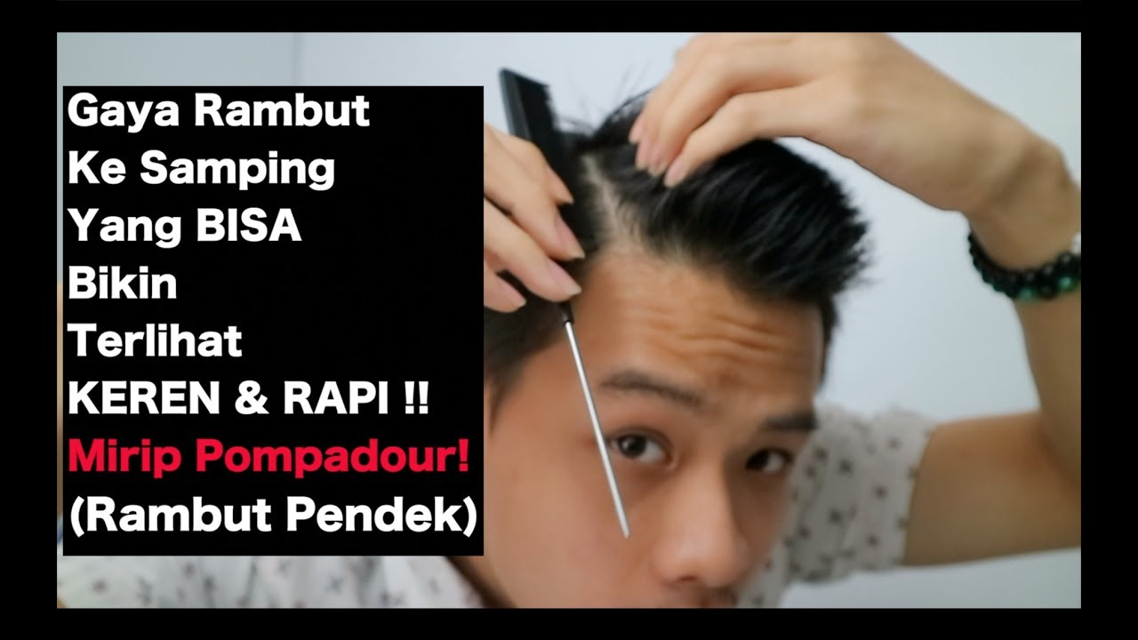 Gaya Rambut Pendek Ke Samping Menshaircut2019 Youtube