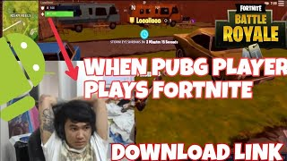 Fortnite Mobile Android APK Download Link + PABUHAT