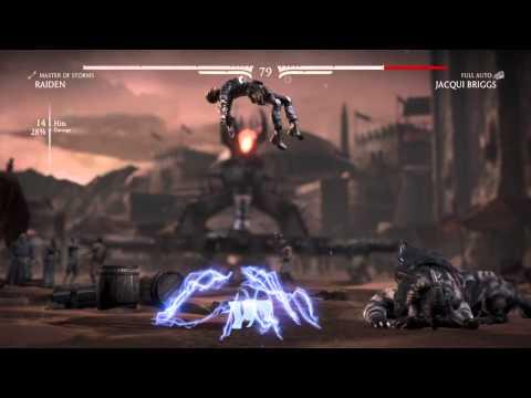 "Mortal Kombat X - Raiden Brutality 2 ""Dark Force"""
