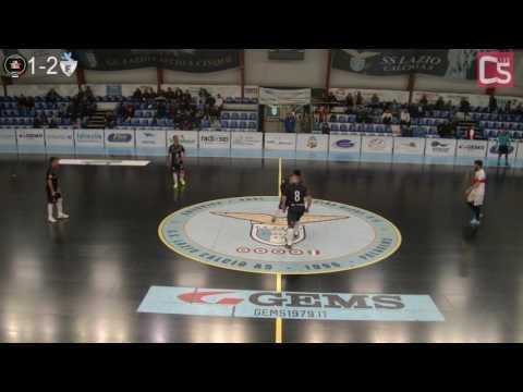 Calcio a 5, Serie C1: Italpol - Fortitudo Futsal Pomezia, highlights e interviste