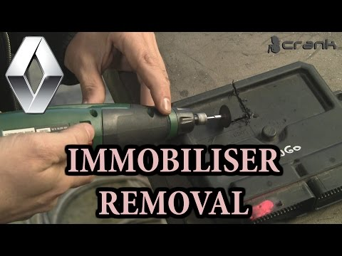 Renault Immobiliser Off Removal Bypass