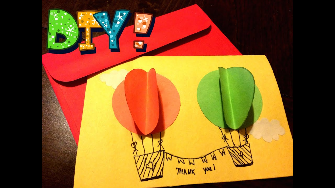 "DIY: Fancy ""Thank You"" Handmade Card!!! Easy To Follow ..."