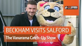 Beckham visits Salford as Wrexham close in on Solihull  | National League Highlights: Matchday 34