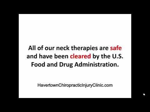 Neck Pain, Chiropractor, Havertown Pennsylvania