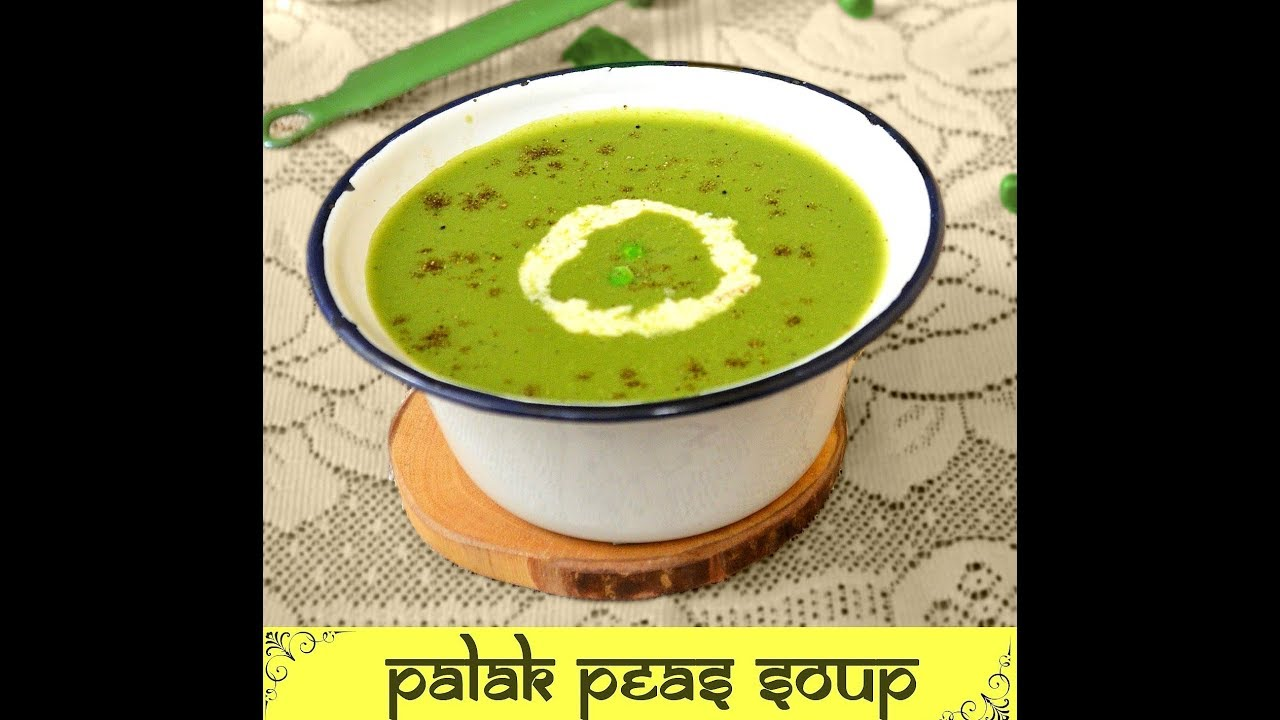 Palak soup recipe spinach soup recipe cream of spinach soup