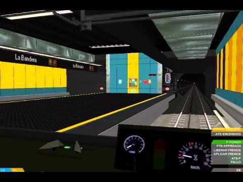 [OpenBve] Metro de Caracas Linea 3 Virtual Plaza Venezuela - El Valle (Recorrido)