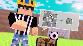 FUTBOL TOPU KILICI İLE GOL ATMAK ! (Minecraft)