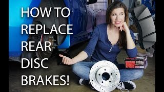 How Replace Rear Disc Kes