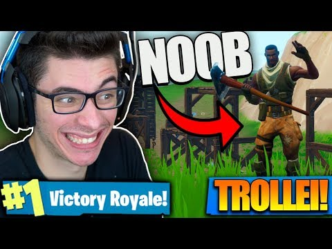 FINGI SER NOOB E MATEI TODO MUNDO! Fortnite: Battle Royale thumbnail