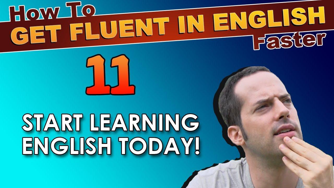 how to speak english fluently