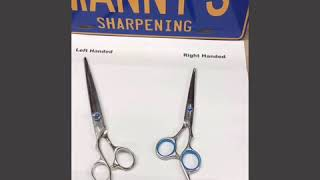 How to tell Right & Left Handed Scissors