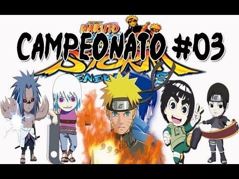 3° Campeonato , Melhores jogadores da PSN, Anime Fantasy 2012 - Naruto Generations