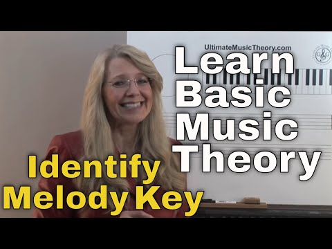 Identify Melody Key - Music Theory: Video Lesson 9