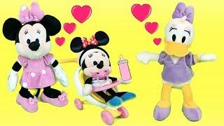Mickey Mouse & Minnie Mouse en español: Daisy y pato Donald con el bebe.Episodio completo 2018