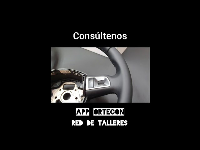 Tapizado de volantes Ortecon especializados desde 1991