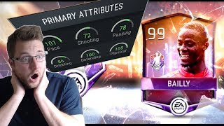 FIFA Mobile CPOTM Eric Bailly Review and Gameplay! The Best Defender is Back!! With the Best Boosts!