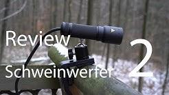 Review Schweinwerfer 2 - Jagen mit Rotlicht (ausführlich)