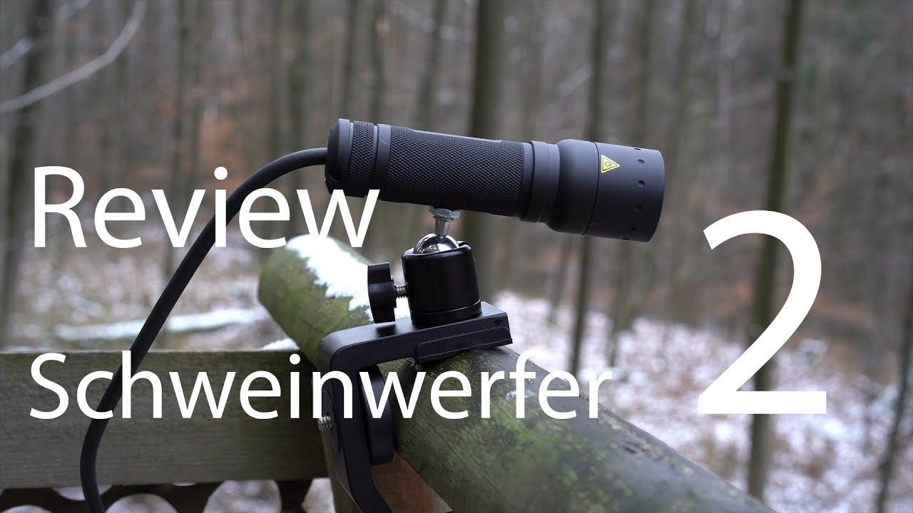 professionelle Website erstaunlicher Preis offizielle Fotos Review Schweinwerfer 2 - Jagen mit Rotlicht (ausführlich)