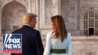 Trump, First Lady wrap up visit to India