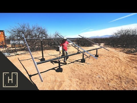 DON'T DO WHAT I DID!! Off Grid Solar Installation Day 3
