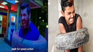 Bollywood vs reality।। Comedy video।। Funny video।। mubin Khanvinell।। Bbki vines।।r2h