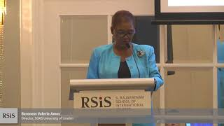 The S.T. Lee Distinguished Annual Lecture by Baroness Valerie Amos 27 Oct 2017