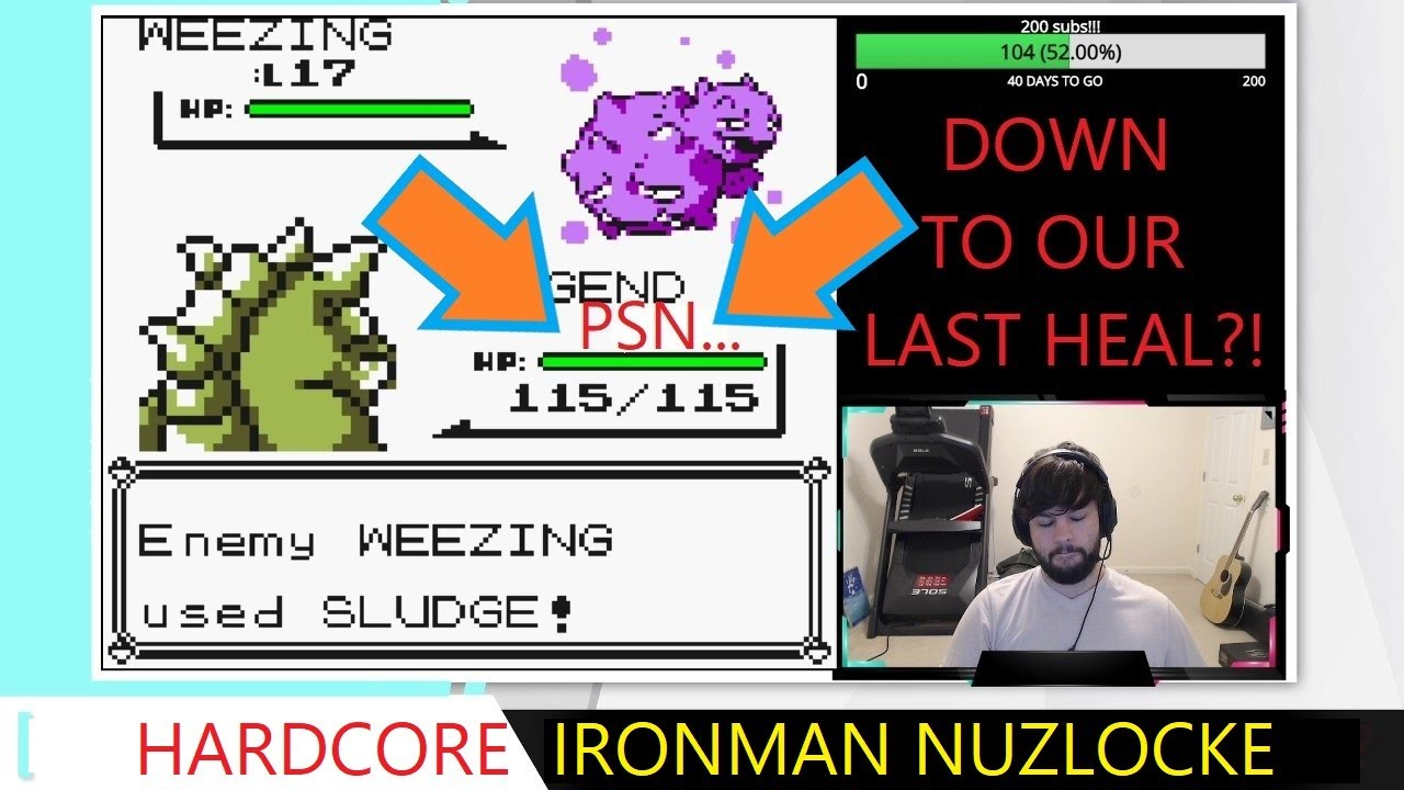 💀🔥HARDCORE IRONMAN NUZLOCKE: DO WE HEAL OR RISK IT??  Let's Play Pokémon Randomizer Nuzlocke Ep. 9