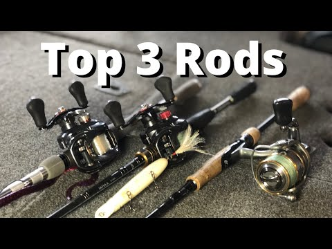 Best BASS Rods Ever Made? (If I Could ONLY Have 3)