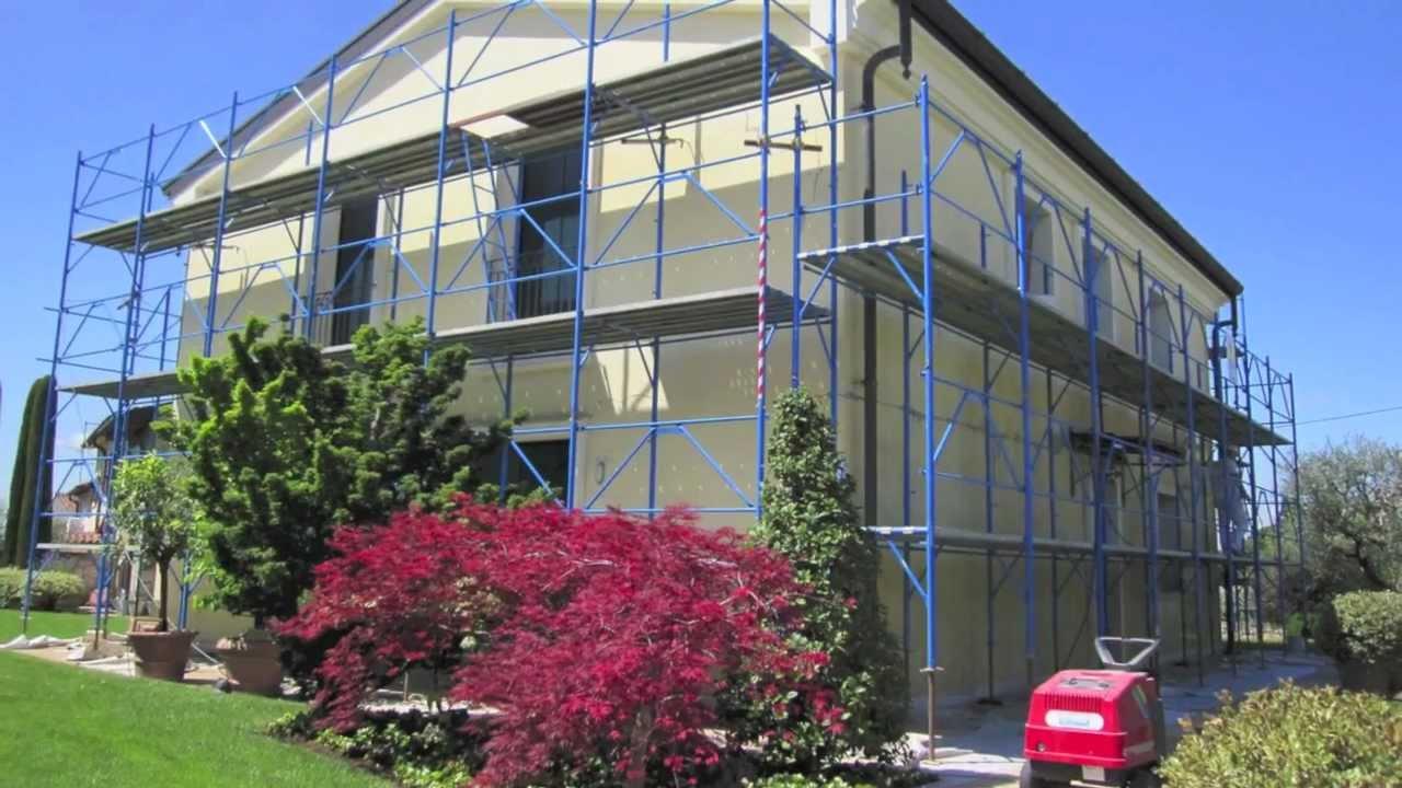 Restauro e tinteggiatura facciate esterne con crepe for Opzioni esterne della casa