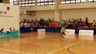 筲箕灣崇真學校(第一屆全港學界跳繩賽) 個人花繩